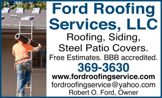 Roofing, Siding, Steel Patio Covers
